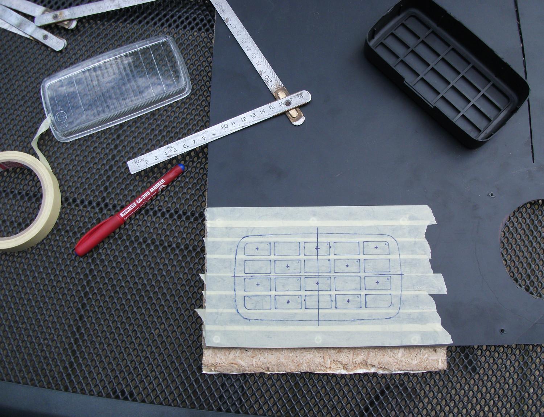 plastic insert for DRL's