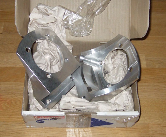 Sharpbuilt caliper brackets