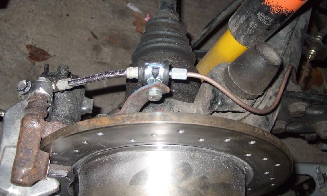 Brakeline installed