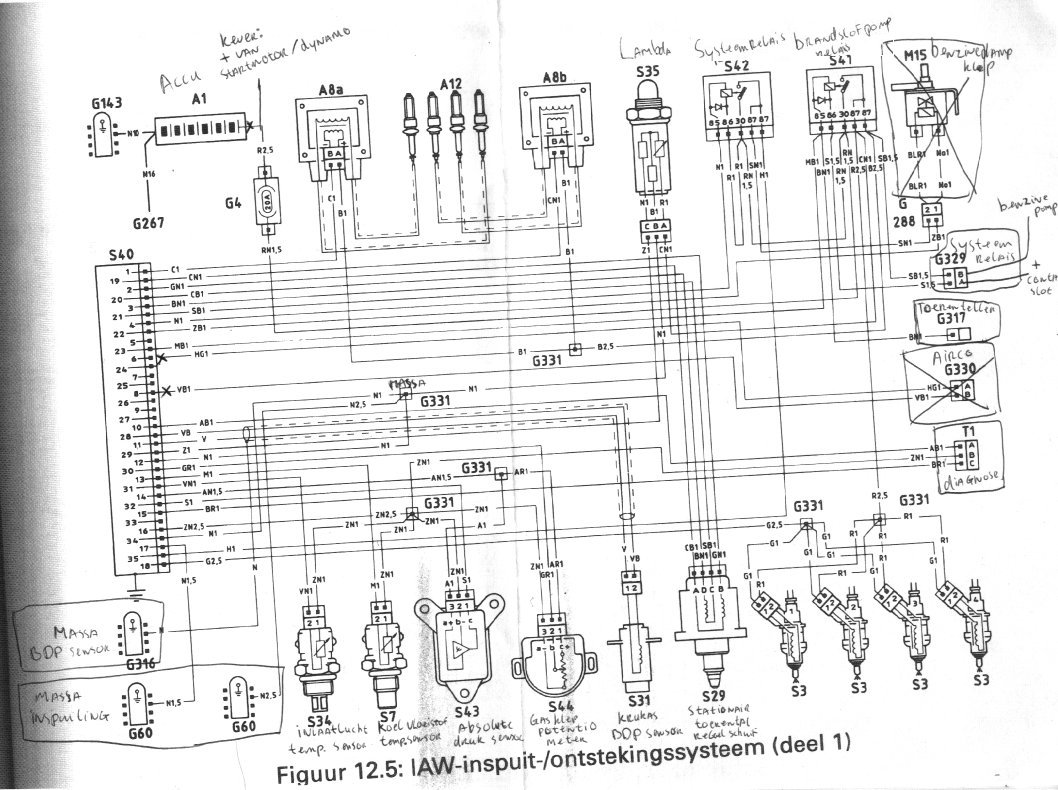 edit 09-04-2006: Before I had some text here about two mistery relays I  found on the engine wiring loom. I had more misteries like that…