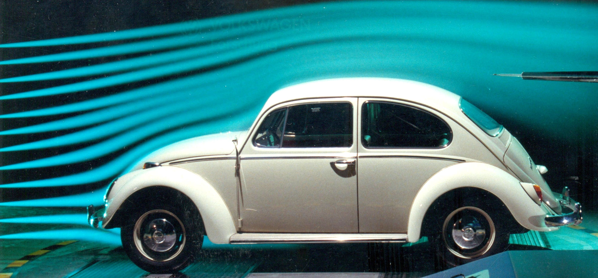 Volkswagen windtunnel test