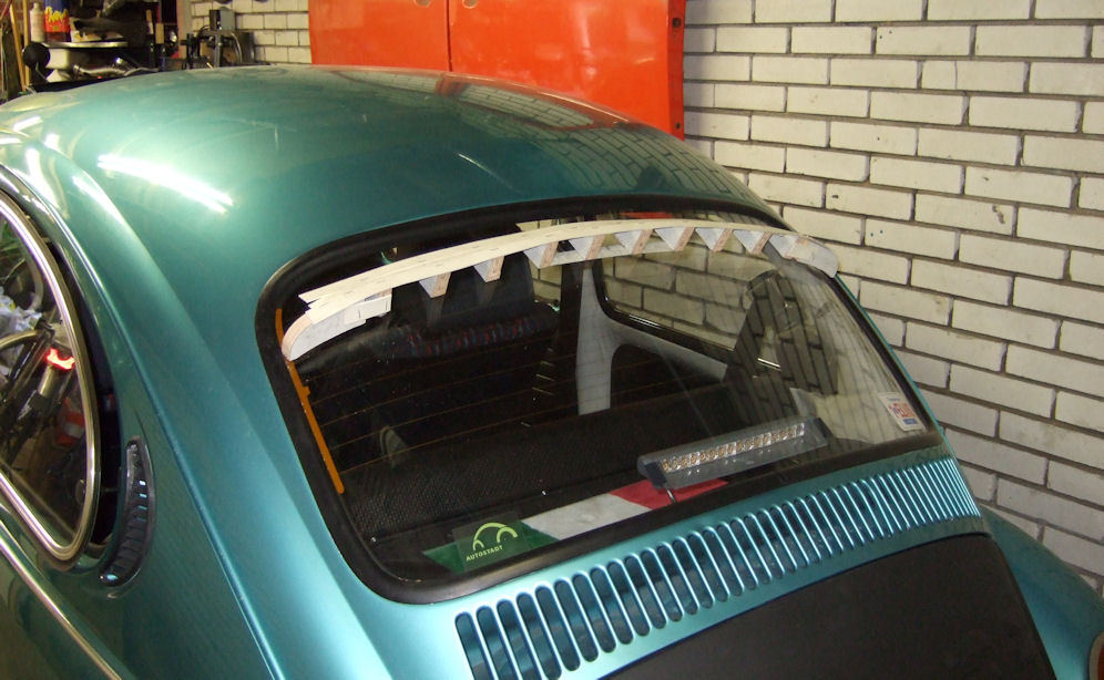 Shaping the spoiler